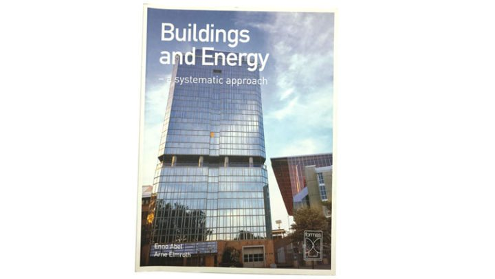Buildings and energi – Byggnaden som system Omslag